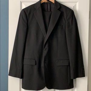 Brooks Brother's black suit